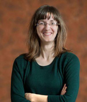 Renée Damstra lachend